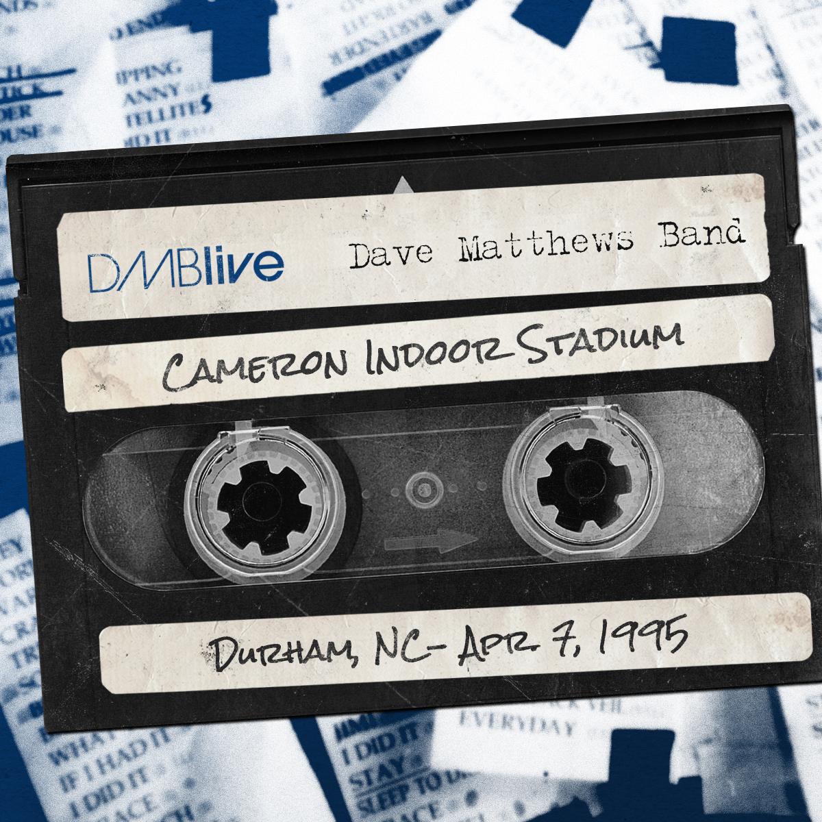DMBLive Cameron Indoor Stadium, Durham, NC 4/7/1995