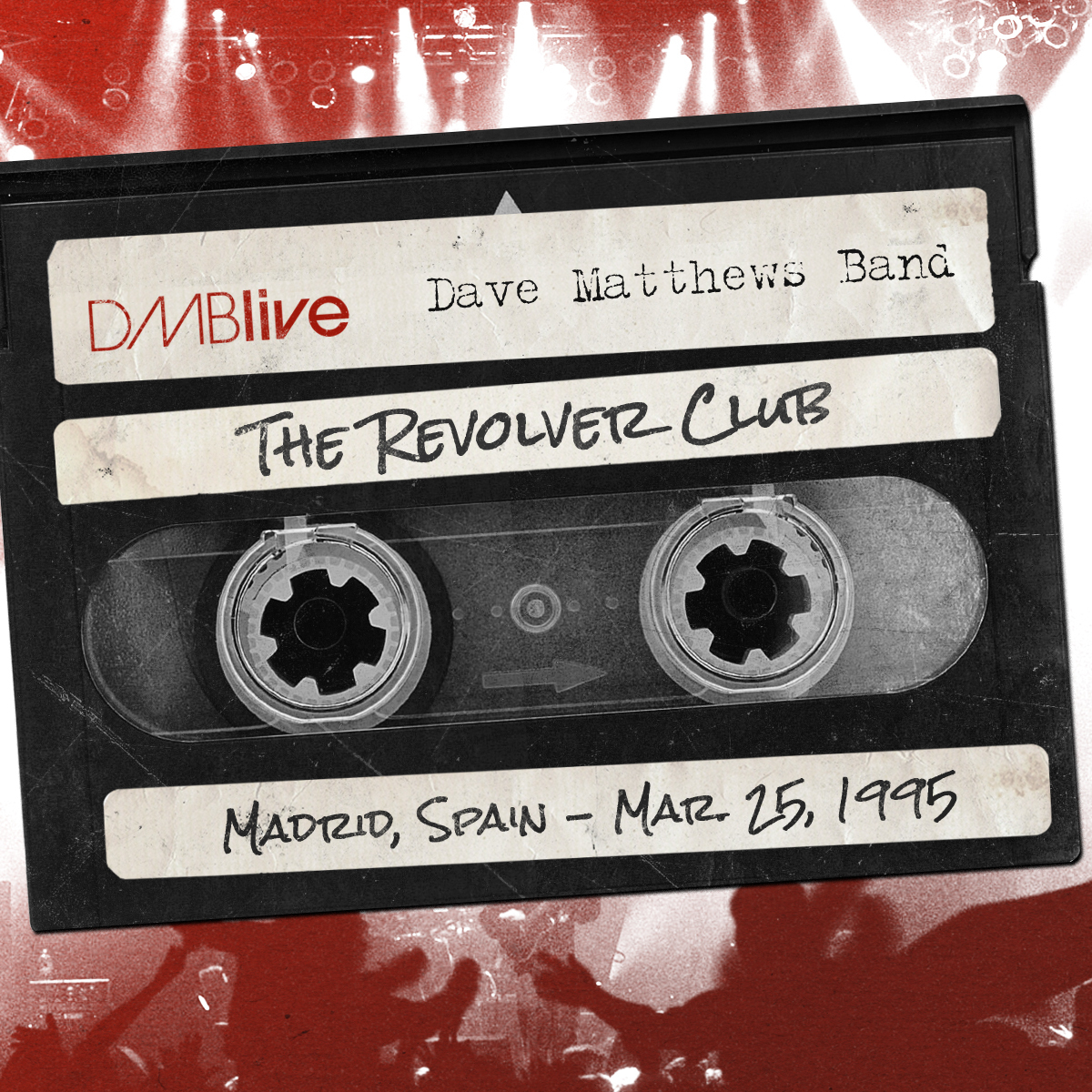 DMBLive The Revolver Club, Madrid, Spain 3/25/1995