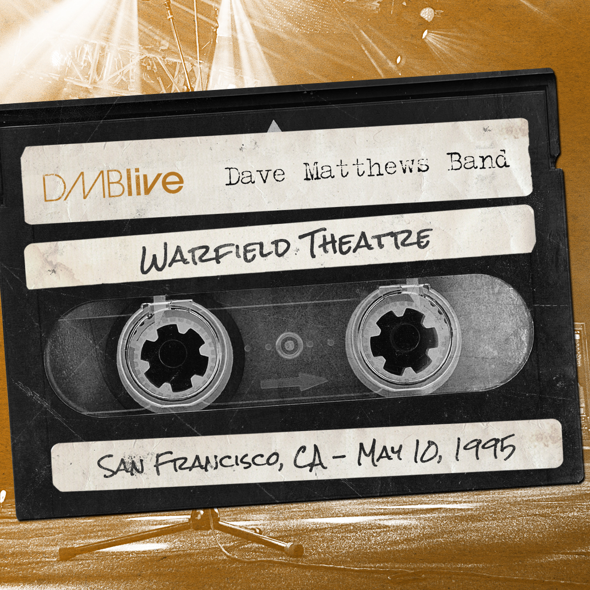 DMB Warfield Theatre, San Francisco, CA 5/10/1995
