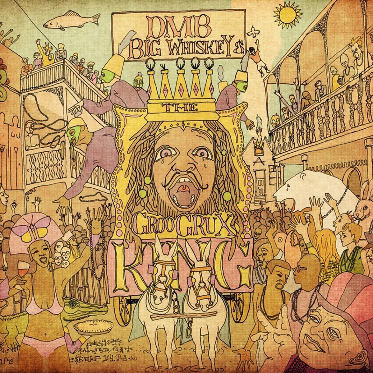 DMB Big Whiskey and the GrooGrux King Vinyl LP