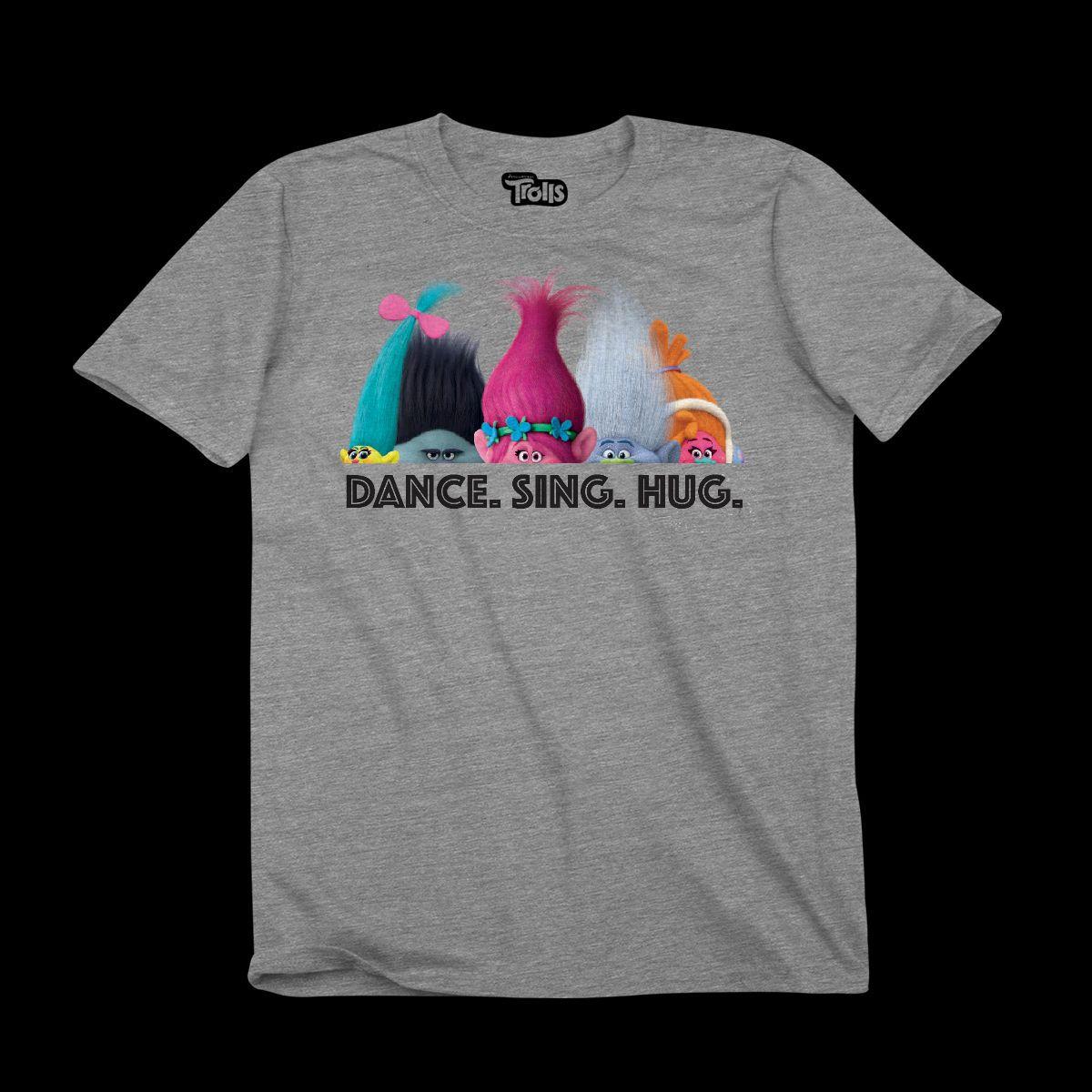 trolls dance sing hug youth t