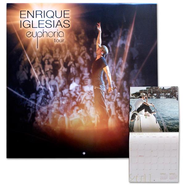 Enrique Iglesias 24-Month Euphoria Calendar