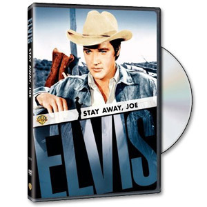 ELVIS Stay Away Joe DVD