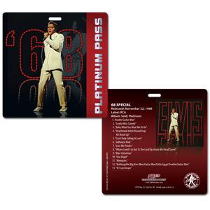 Elvis '68 Comeback Special Platinum Pass