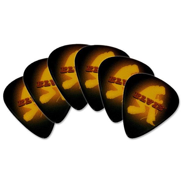 Elvis Yellow Jumpsuit Guitar Picks - 6 Pack