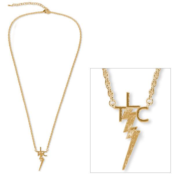 Elvis 18kt Gold Plated TLC Necklace