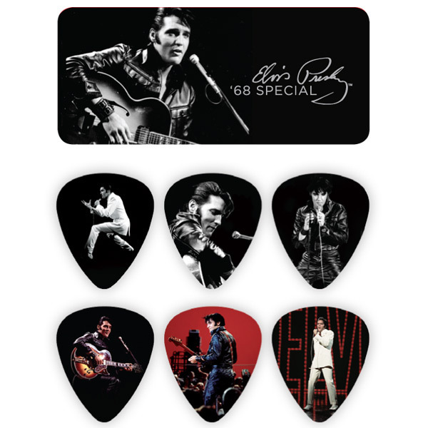 Elvis 68 Special Guitar Picks & Tin