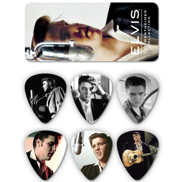 Elvis Wertheimer Guitar Picks & Tin