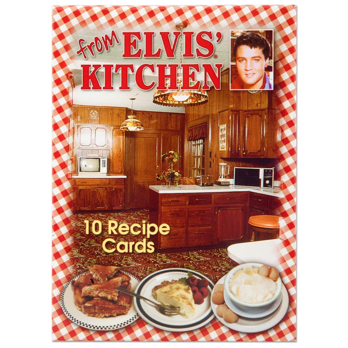 Elvis From Elvis Kitchen Recipe Card Pack