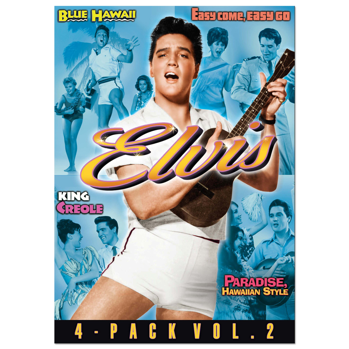 Elvis: Four-Movie Collection Volume 2 DVD