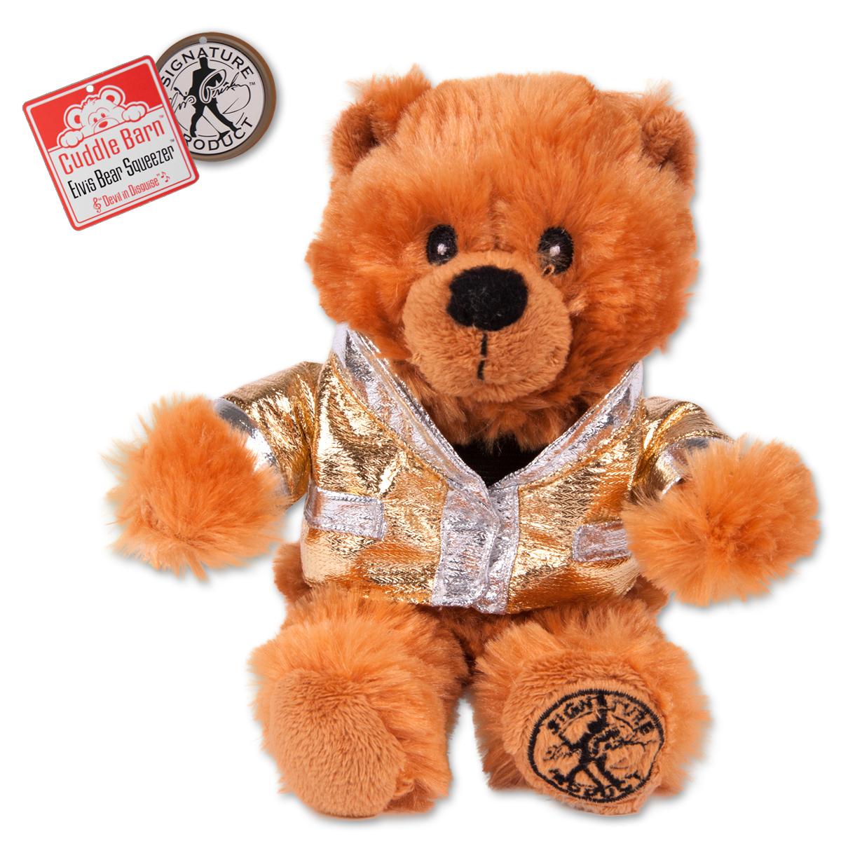 Elvis Devil in Disguise Squeezer Bear