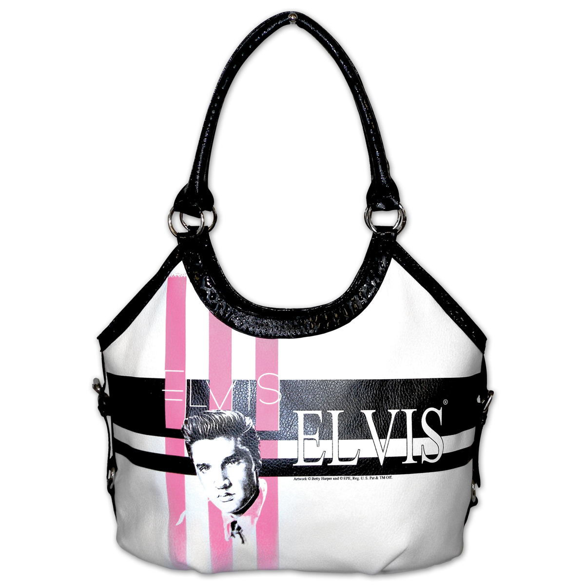Elvis Striped King Tote