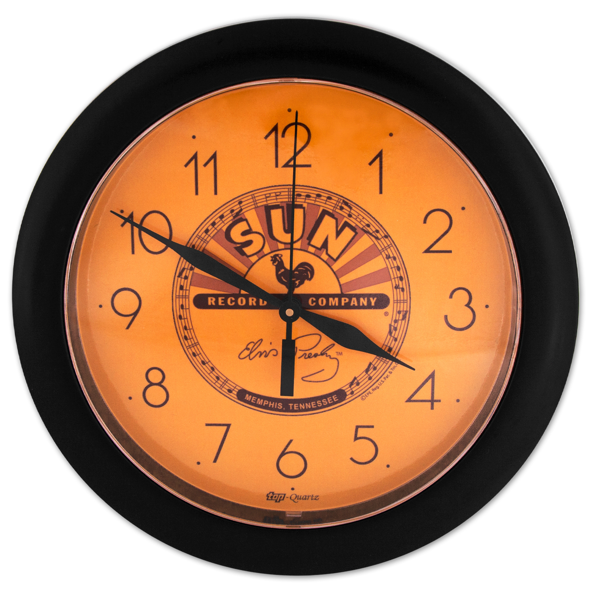Elvis Sun Records Wall Clock