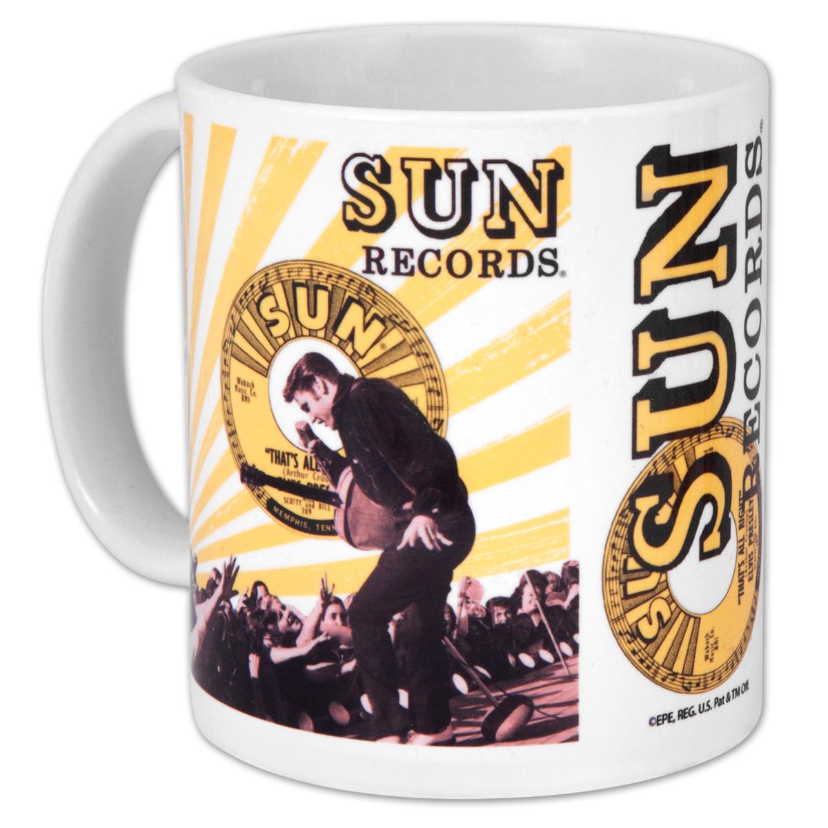 Elvis Sun 45 Sleeve Ceramic Mug