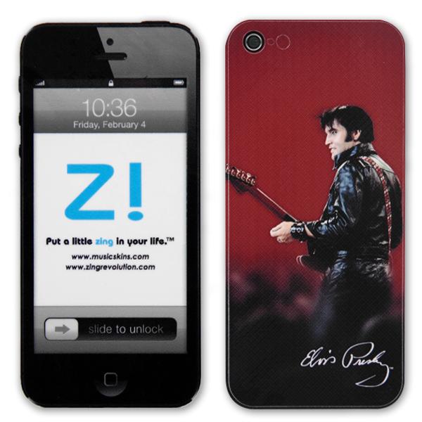 Elvis Leather iPhone 5 Skin