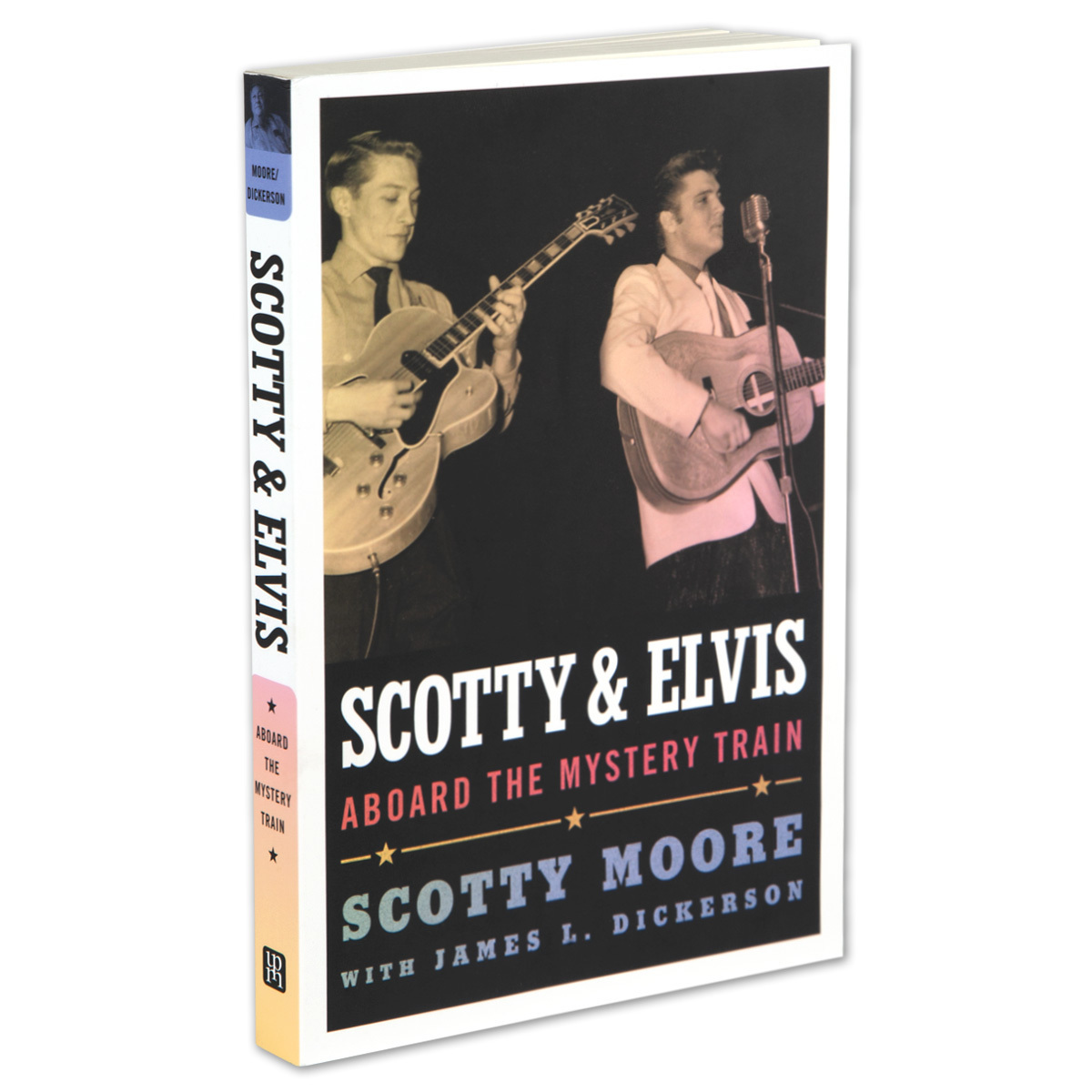 Scotty and Elvis: Aboard the Mystery Train Paperback Book