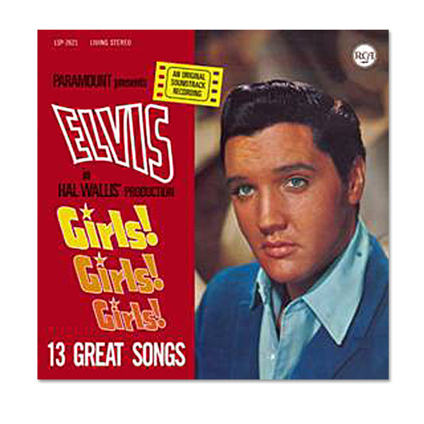 Elvis Girls! Girls! Girls! FTD CD