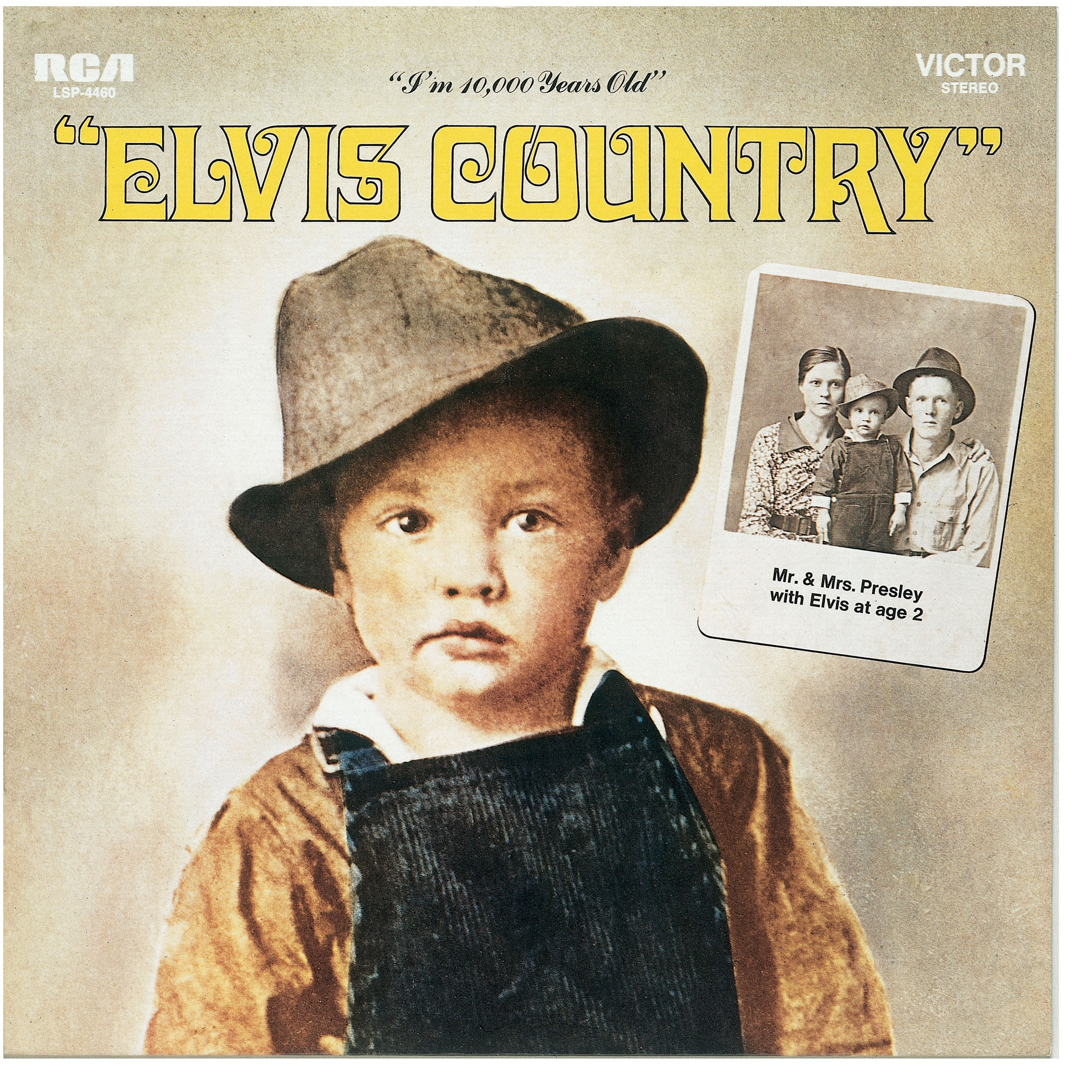 Elvis Country FTD CD