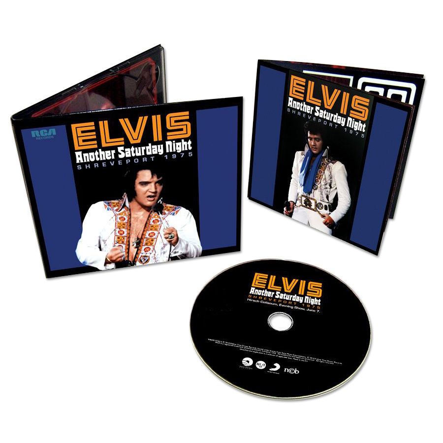 Elvis Presley: Another Saturday Night FTD CD