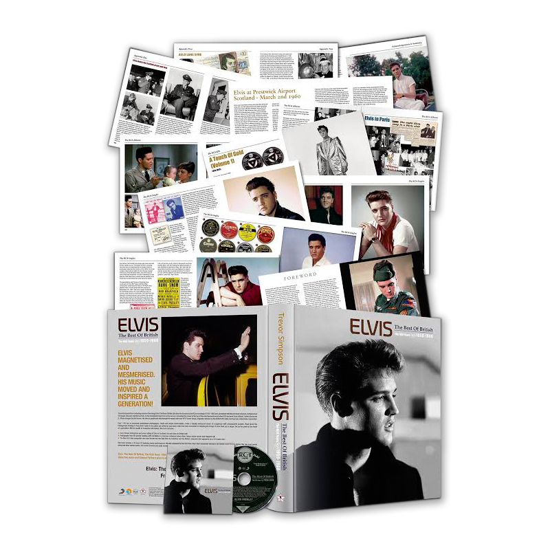 Elvis Best Of British, The RCA Years 1959 – 1960 FTD CD/Book