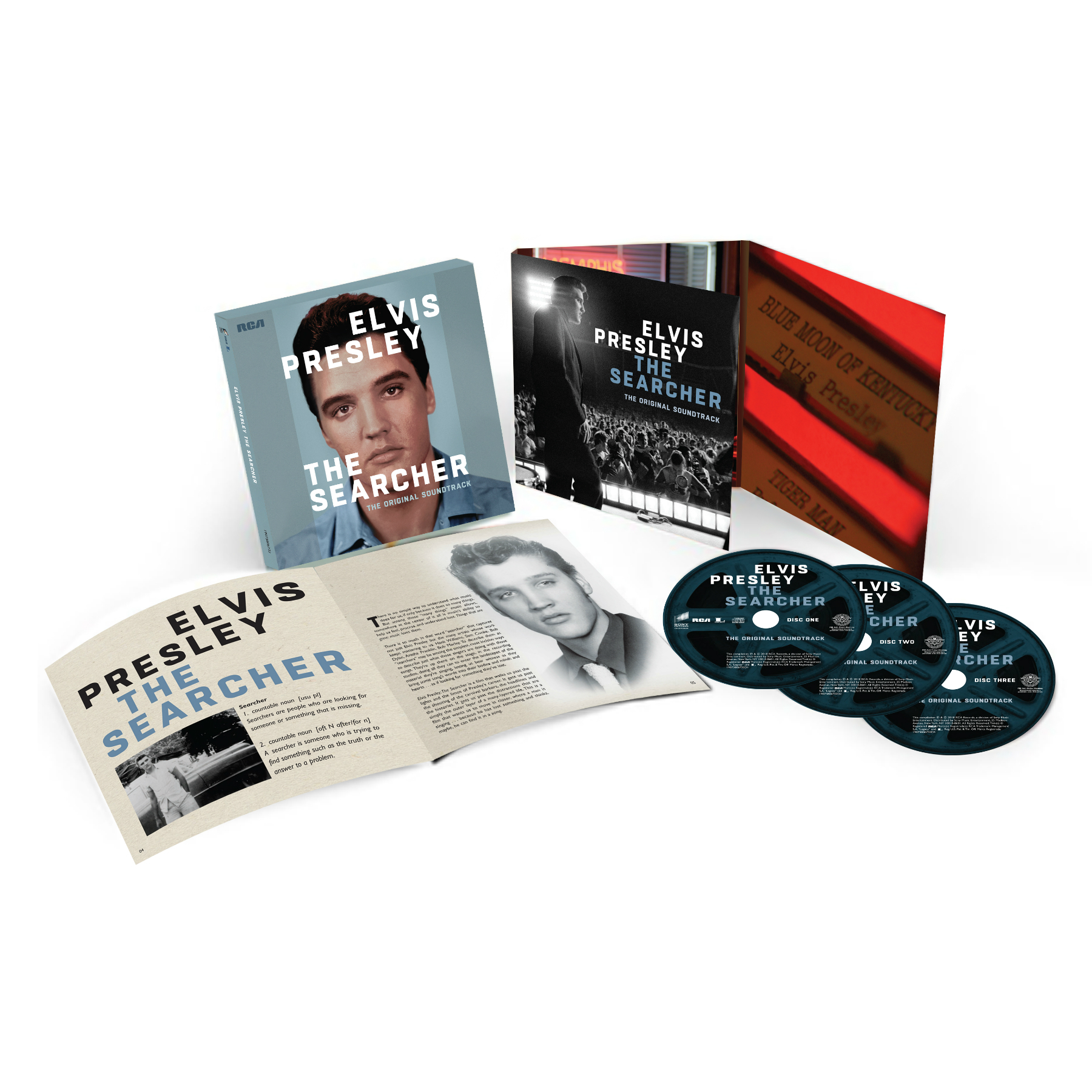 Elvis Presley: The Searcher (The Original Soundtrack) Deluxe 3-Disc CD