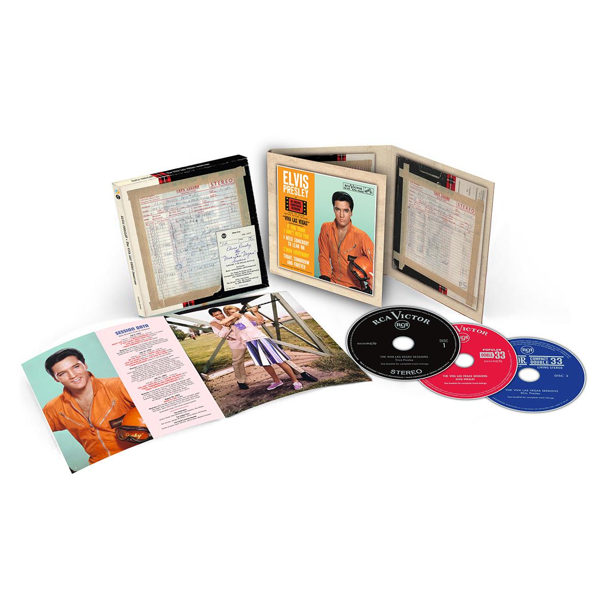 Elvis: The Viva Las Vegas Sessions FTD (3-CD)