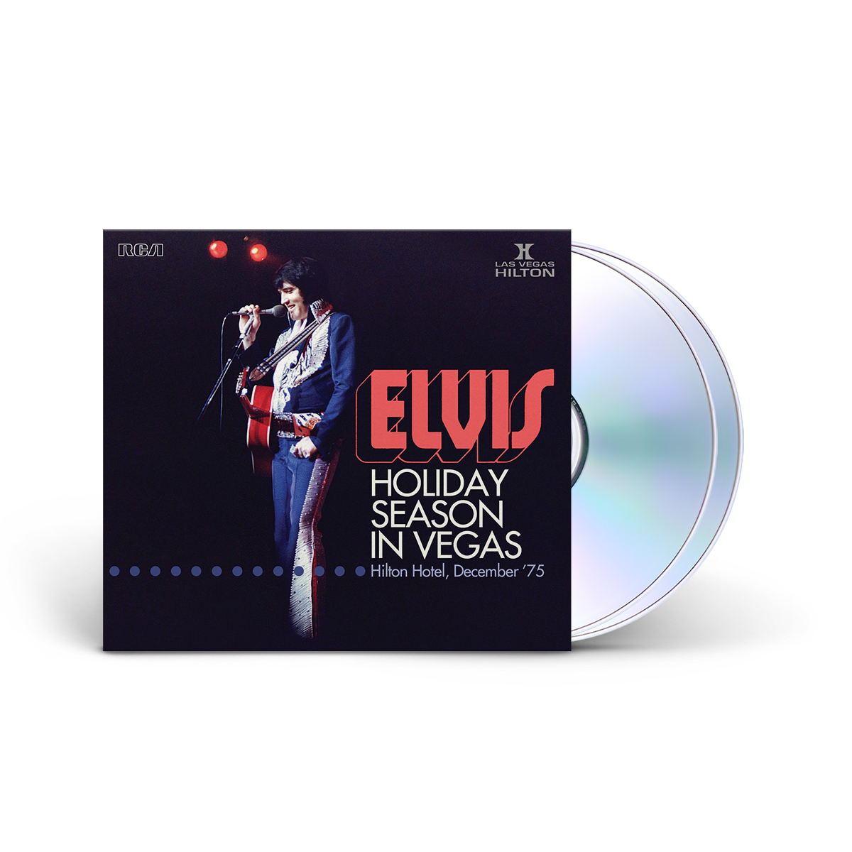 Elvis: Holiday Season in Vegas FTD (Hilton Hotel '75) 2-disc CD