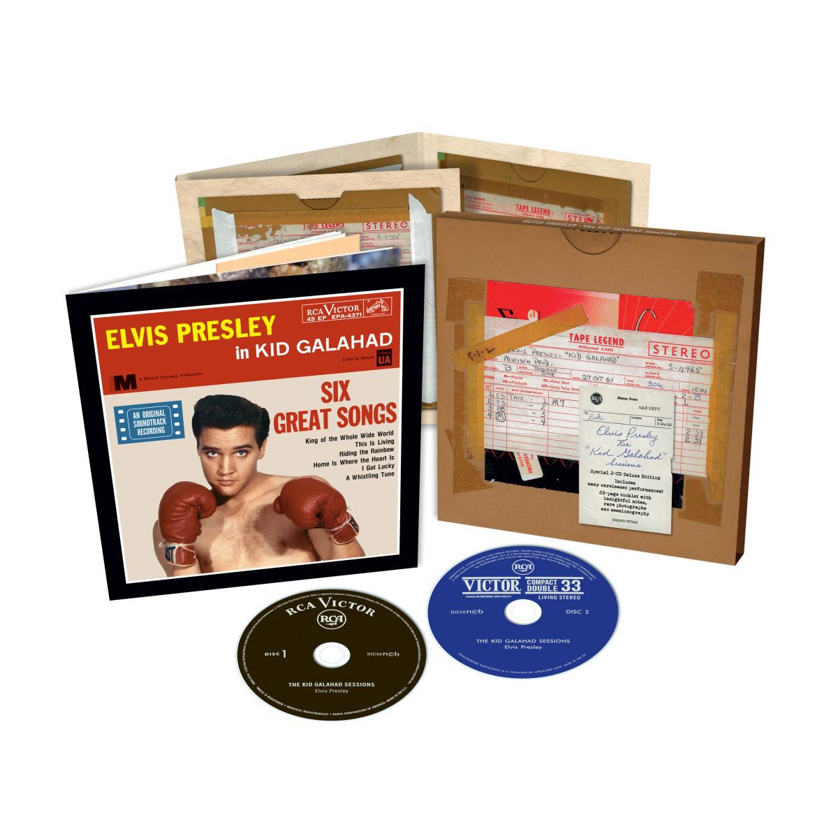 The Kid Galahad Session FTD (2-disc) CD