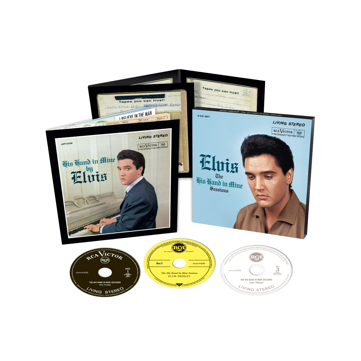 Elvis: The His Hand In Mine Sessions FTD (3-Disc) CD