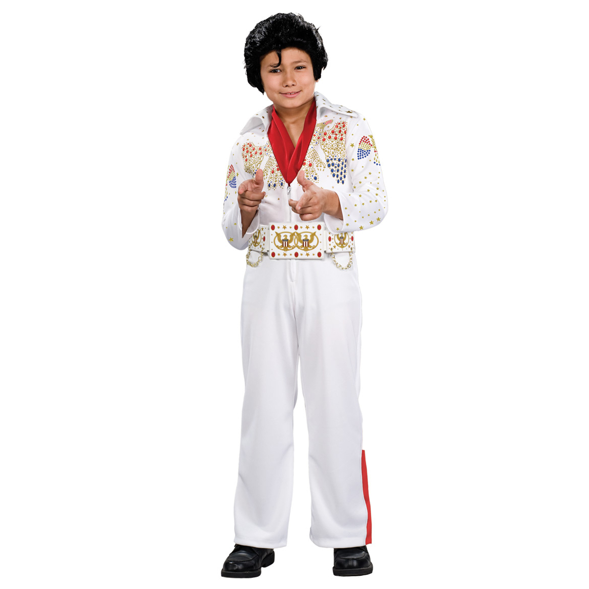 Elvis - Youth Jumpsuit Deluxe Costume
