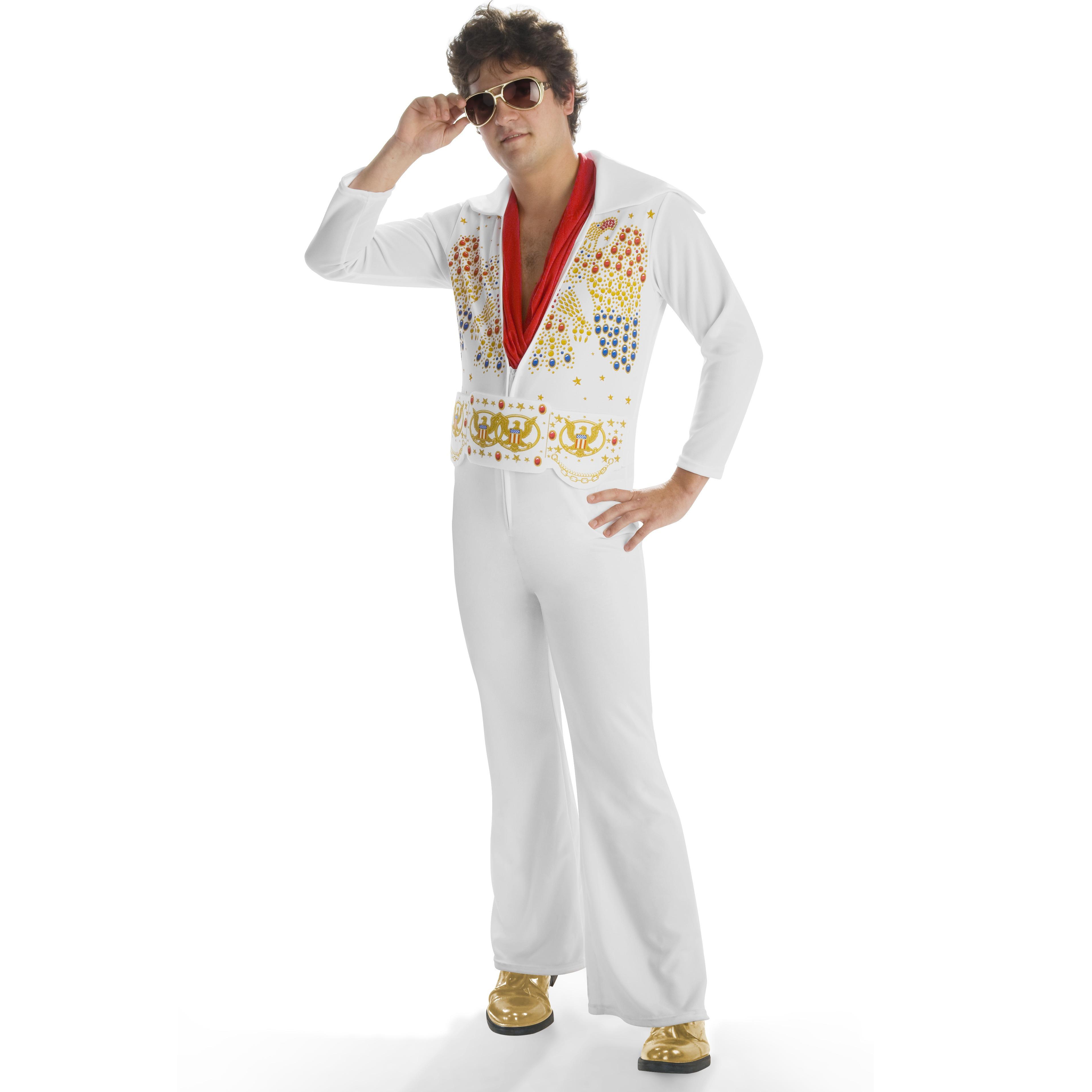 Elvis - Adult Jumpsuit Costume