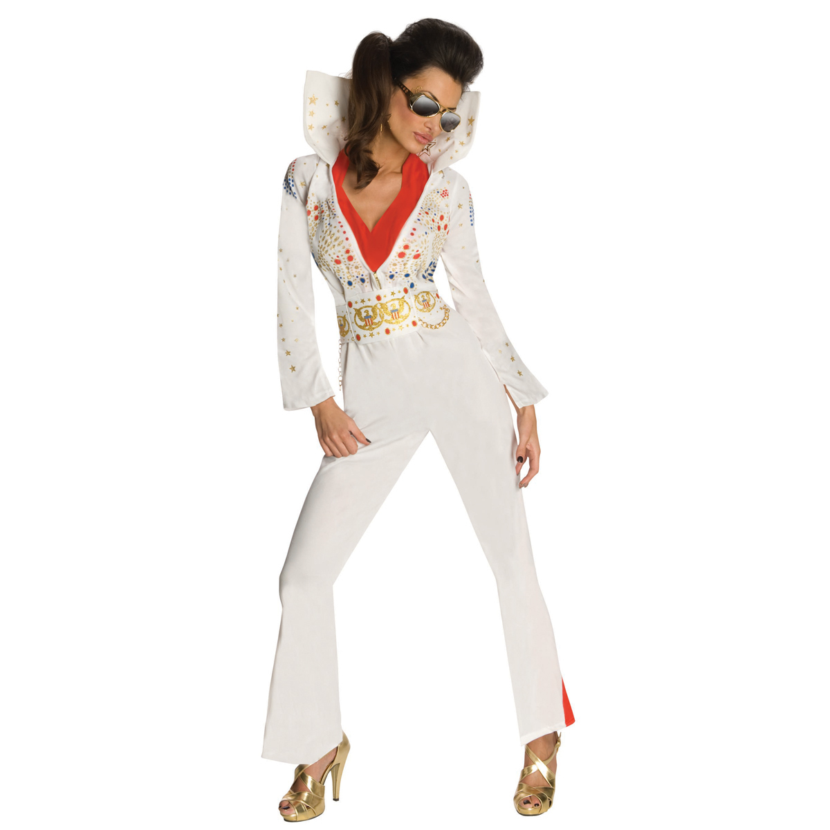 Elvis American Eagle Women's Costume