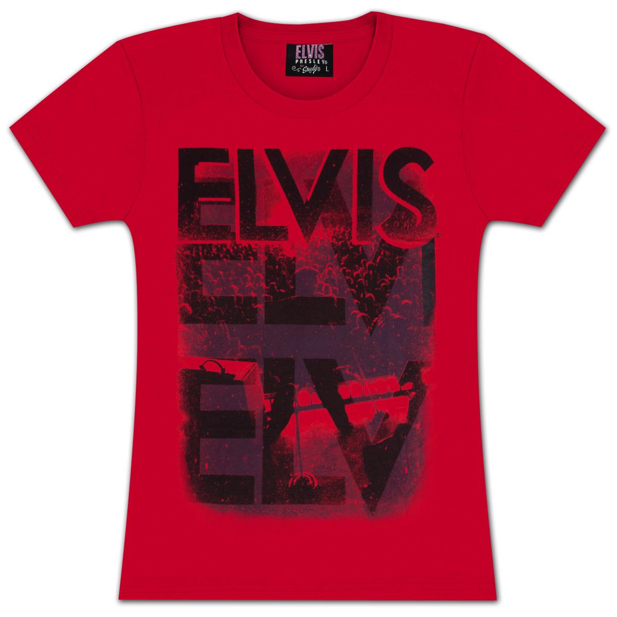 Elvis The Showman Ladies T-shirt