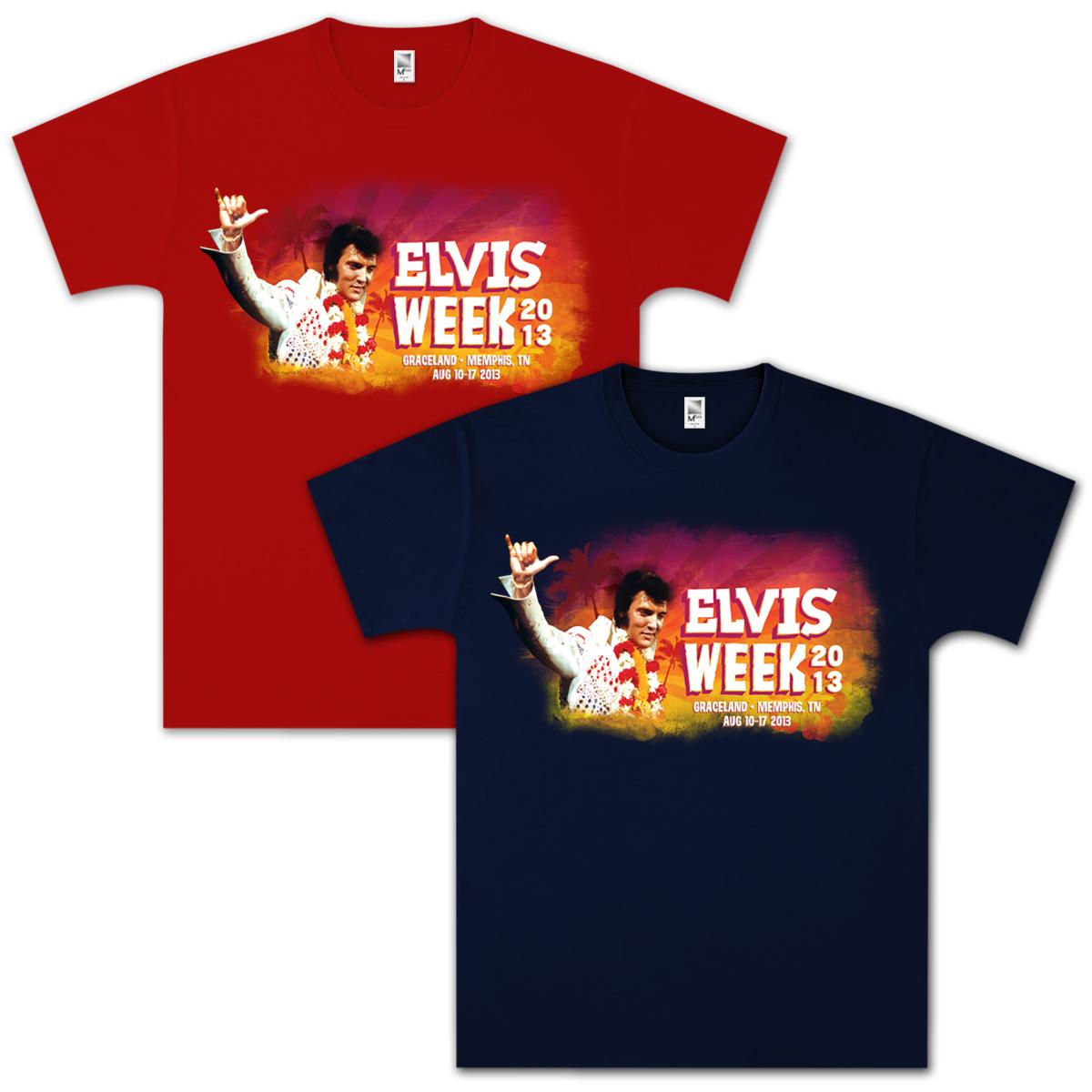 Elvis Week 2013 T-shirt