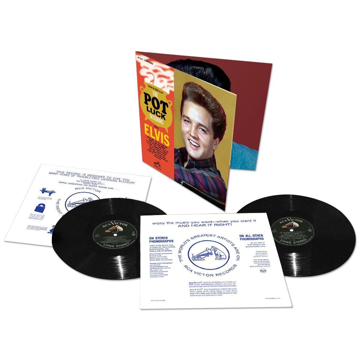 Elvis Pot Luck FTD Vinyl LP