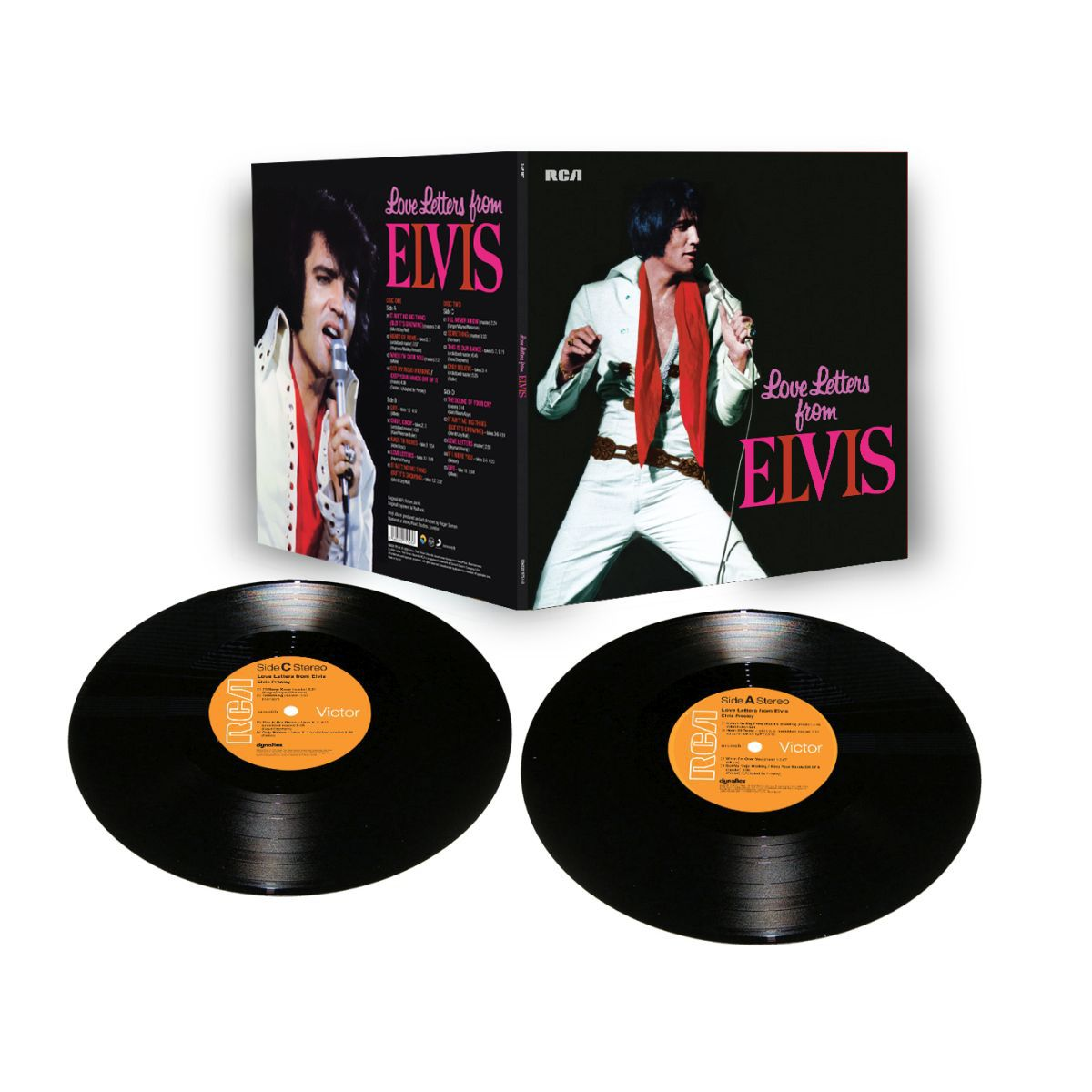 Love Letters From Elvis FTD Limited Edition Vinyl (2 LP)