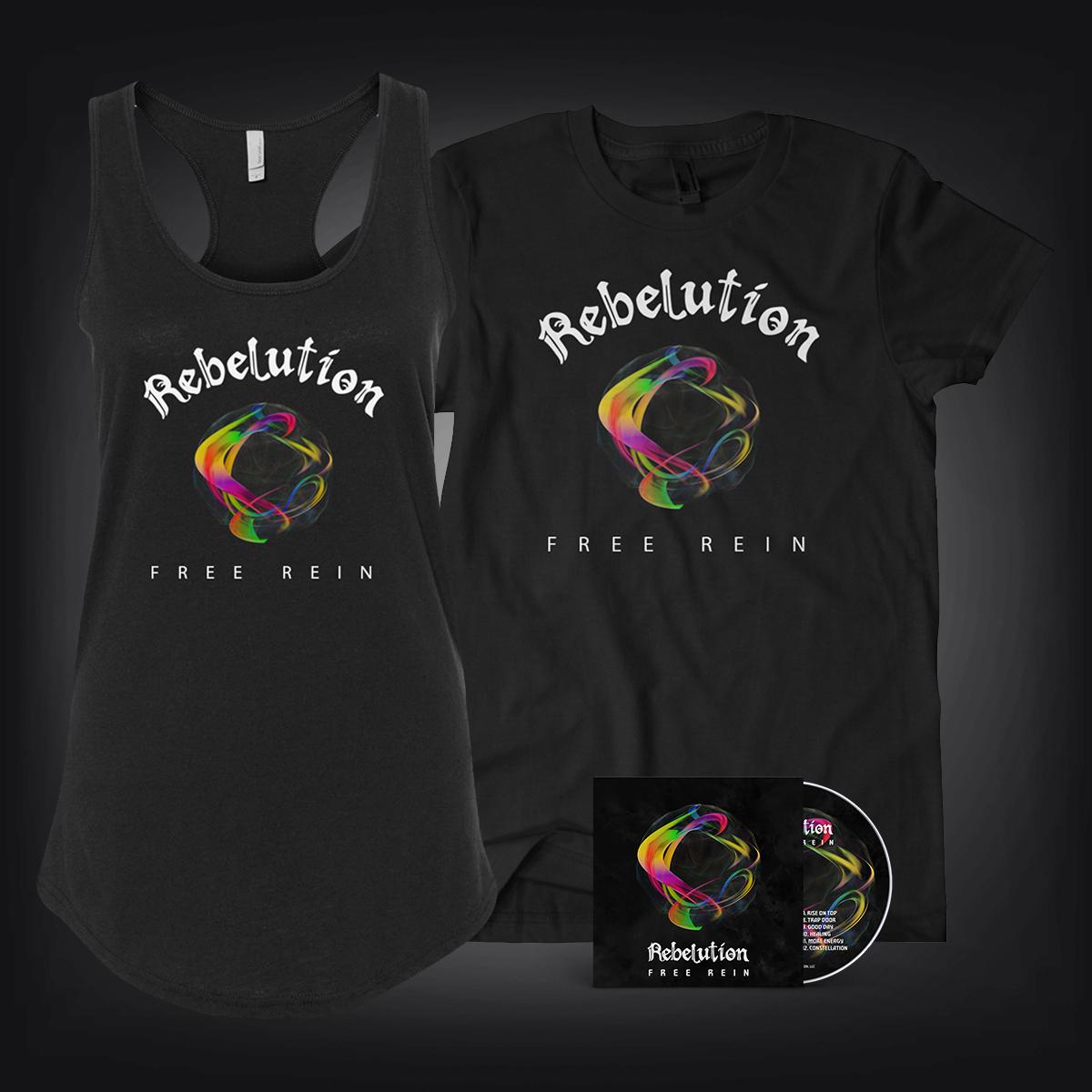 Free Rein CD + Men's Shirt OR Women's Tank Combo