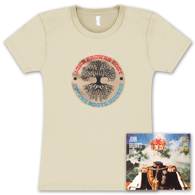 JBB Kings and Queens CD and Ladies Tree T-Shirt Combo