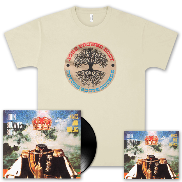 JBB Kings and Queens CD/LP and Men's Tree T-Shirt Combo