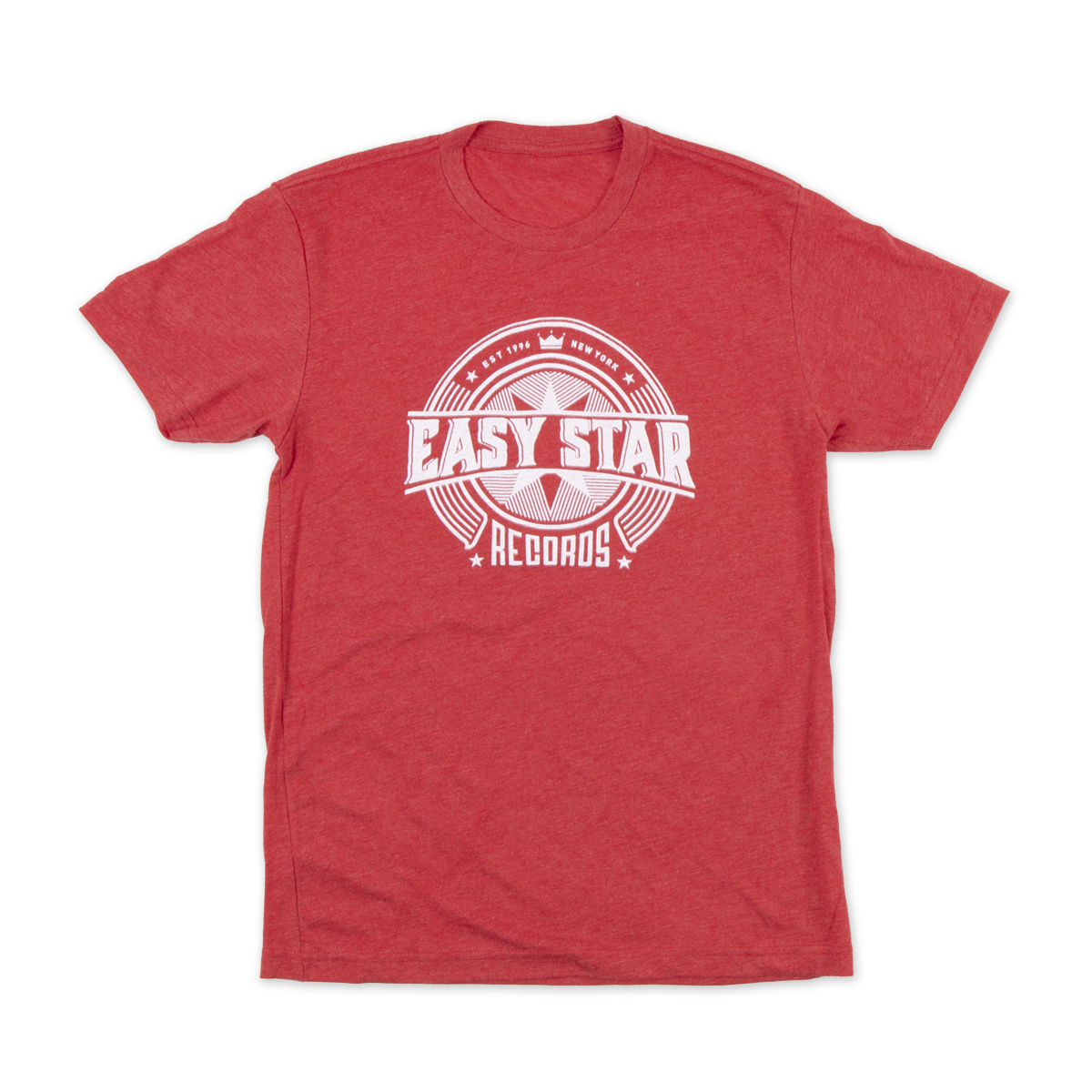 Easy Star Records Circle Logo Red Tee Shirt