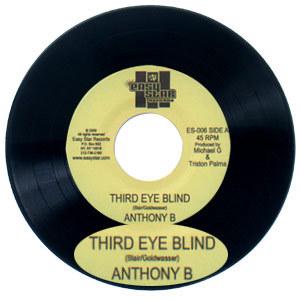 """Anthony B. """"Third Eye Blind"""" 7"""" vinyl single"""