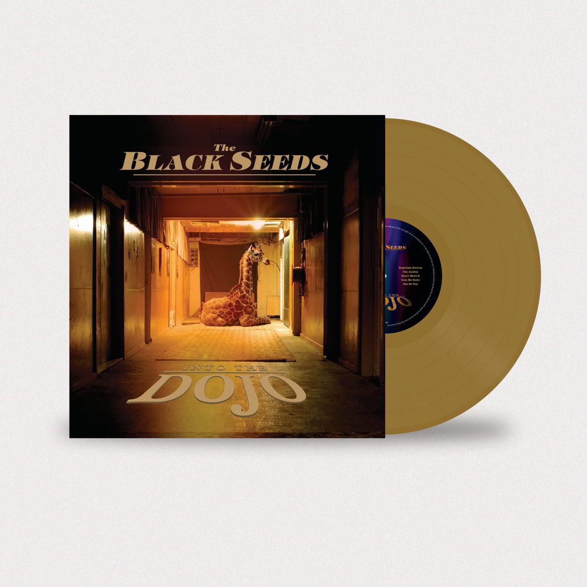 The Black Seeds – Into The Dojo Gold Colored Vinyl