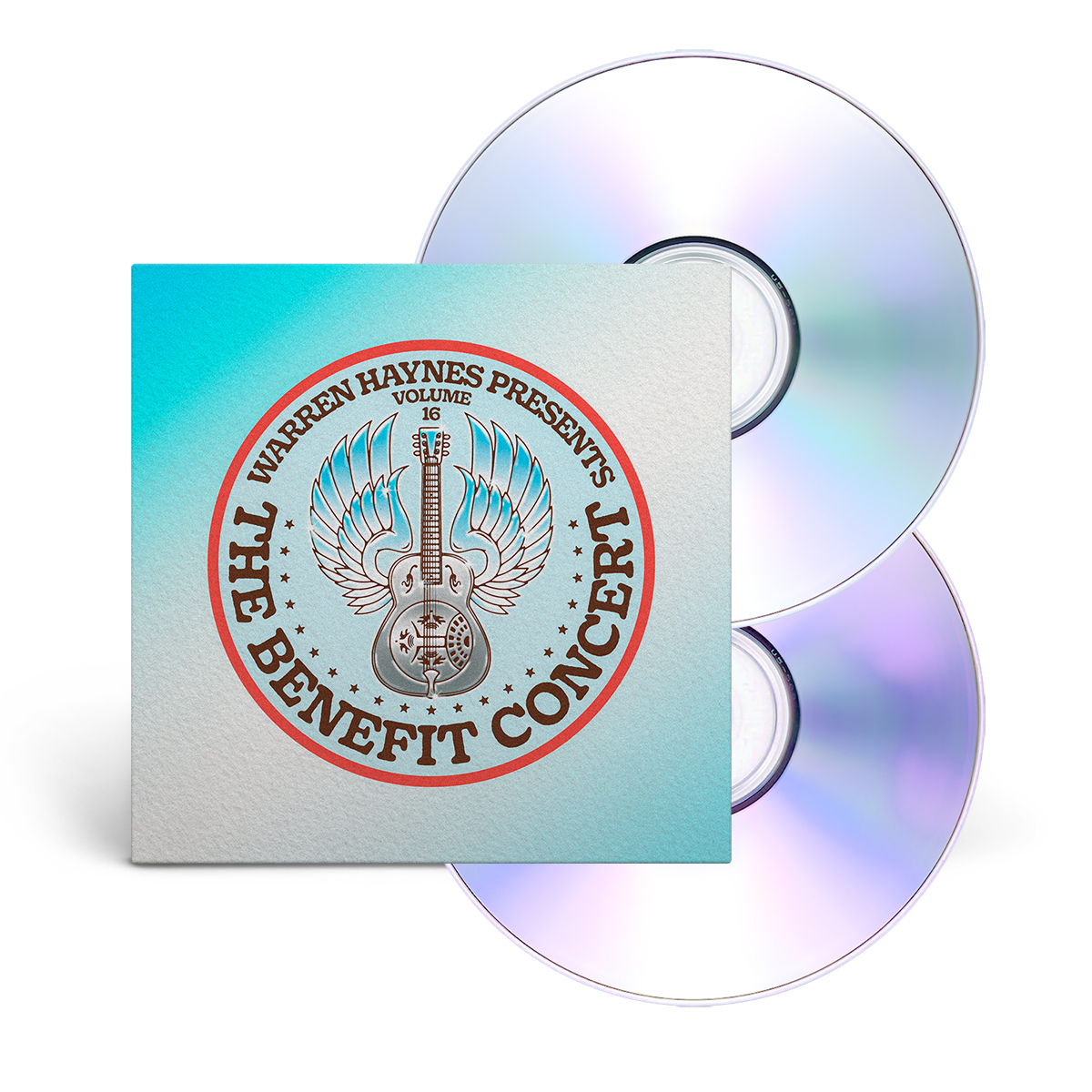 Warren Haynes Presents: The Benefit Concert V. 16 CD/DVD