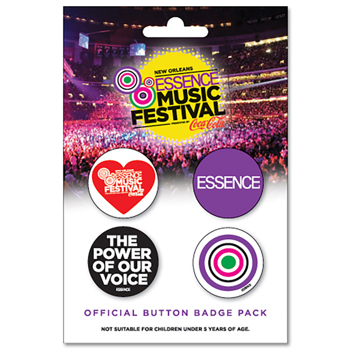 EMF Official Button Badge Pack