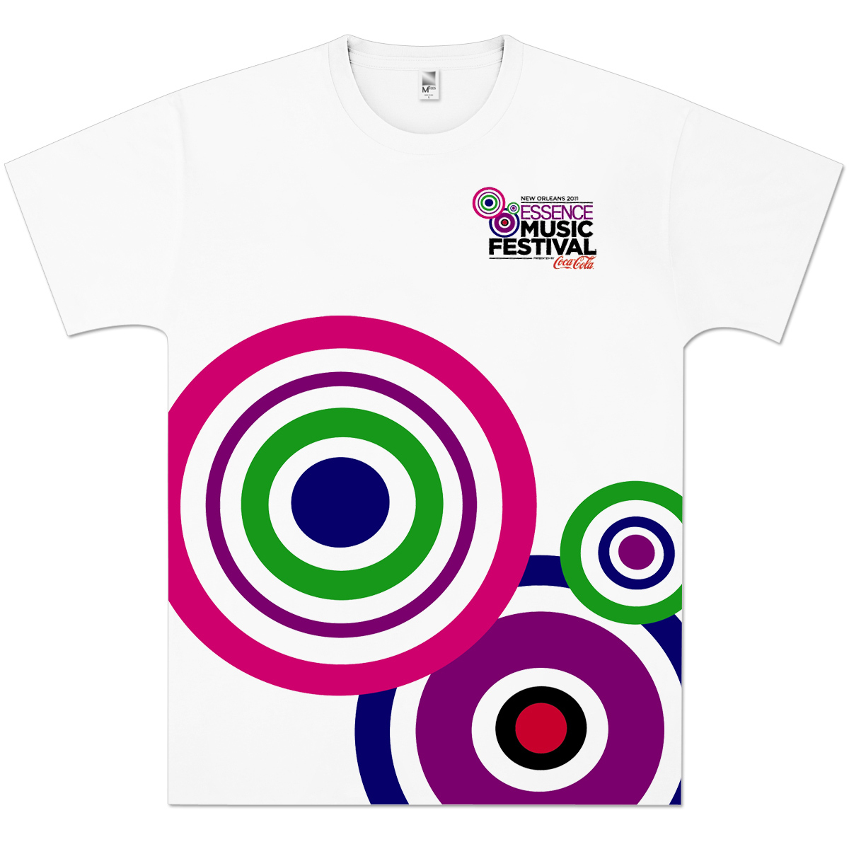 Essence Music Festival Men's Color Burst Tee