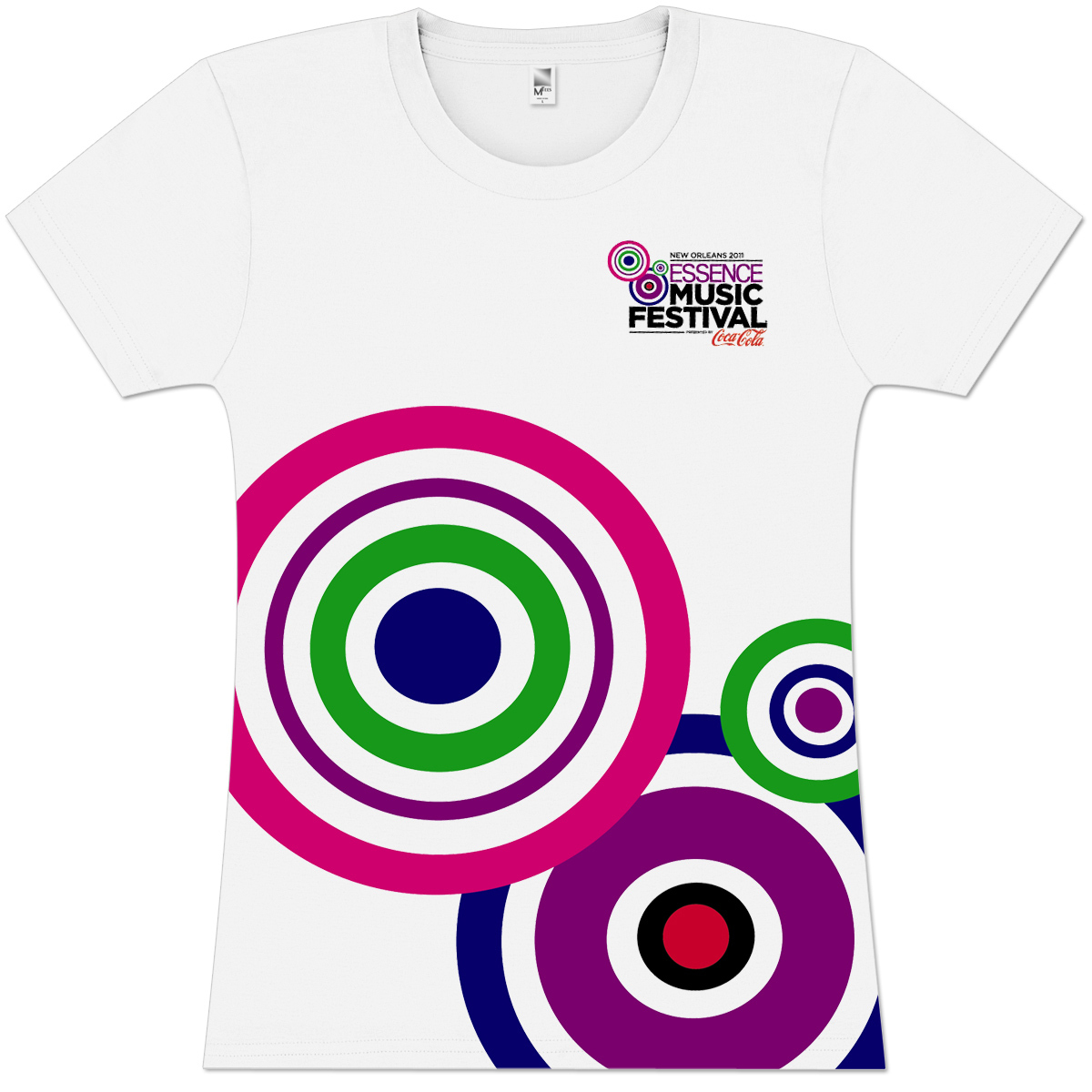 Essence Music Festival Women's Color Burst Tee