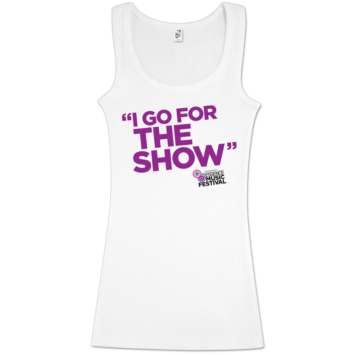 Women's I Go For the Show Racerback Tanktop