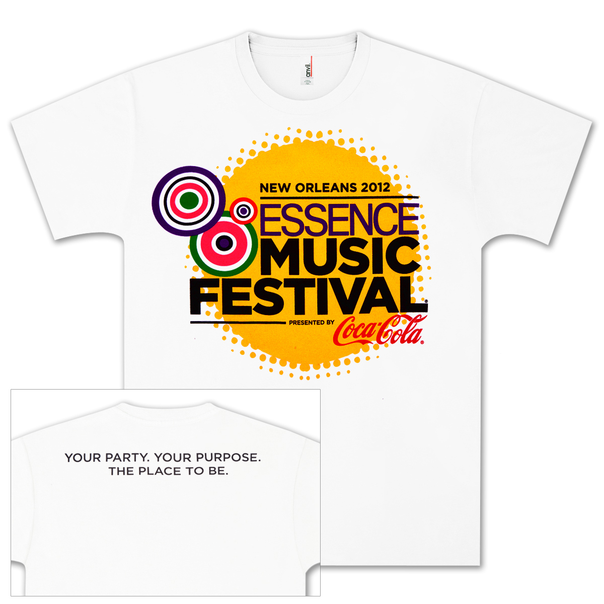 2012 Essence Music Festival T-shirt
