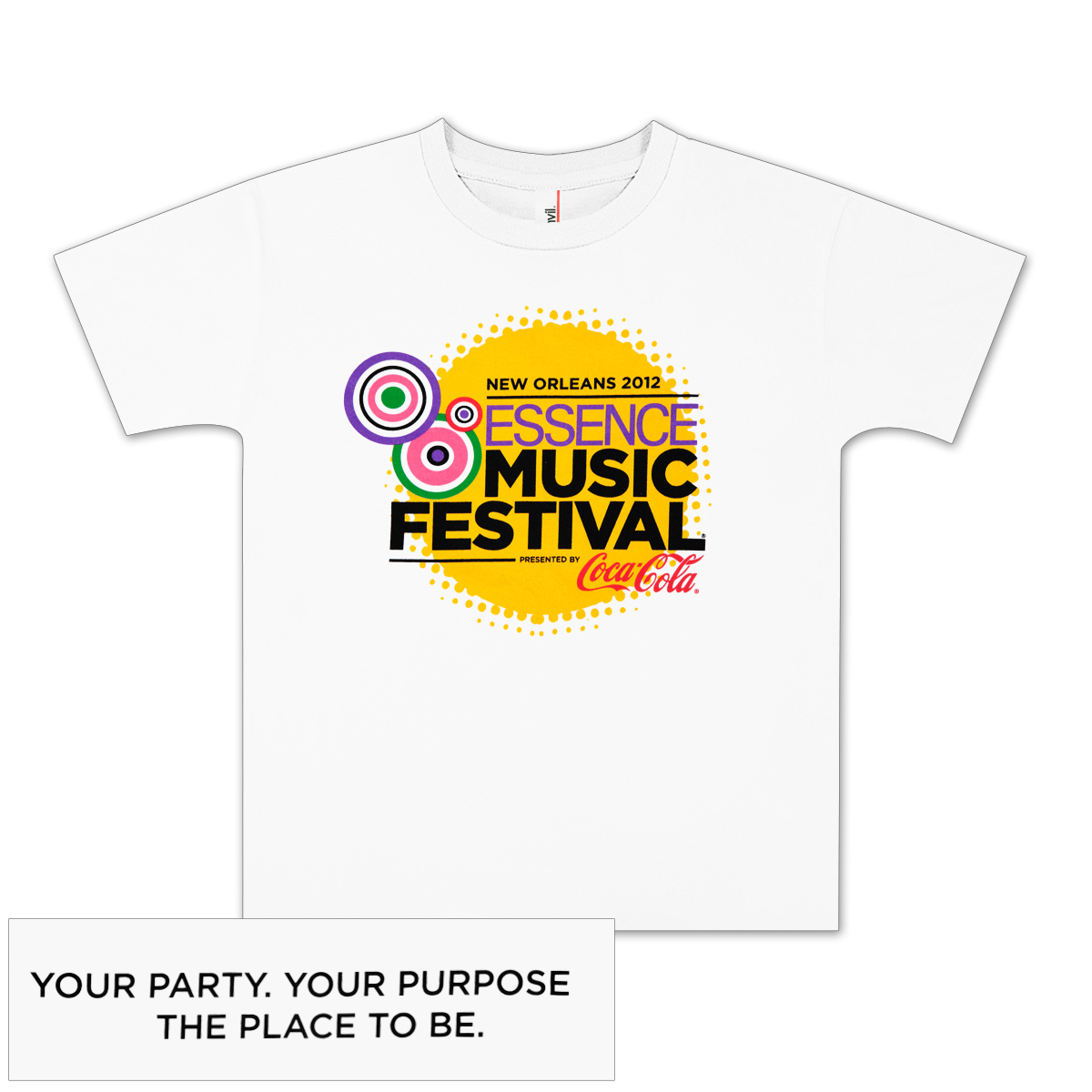 2012 Essence Music Festival Youth T-shirt