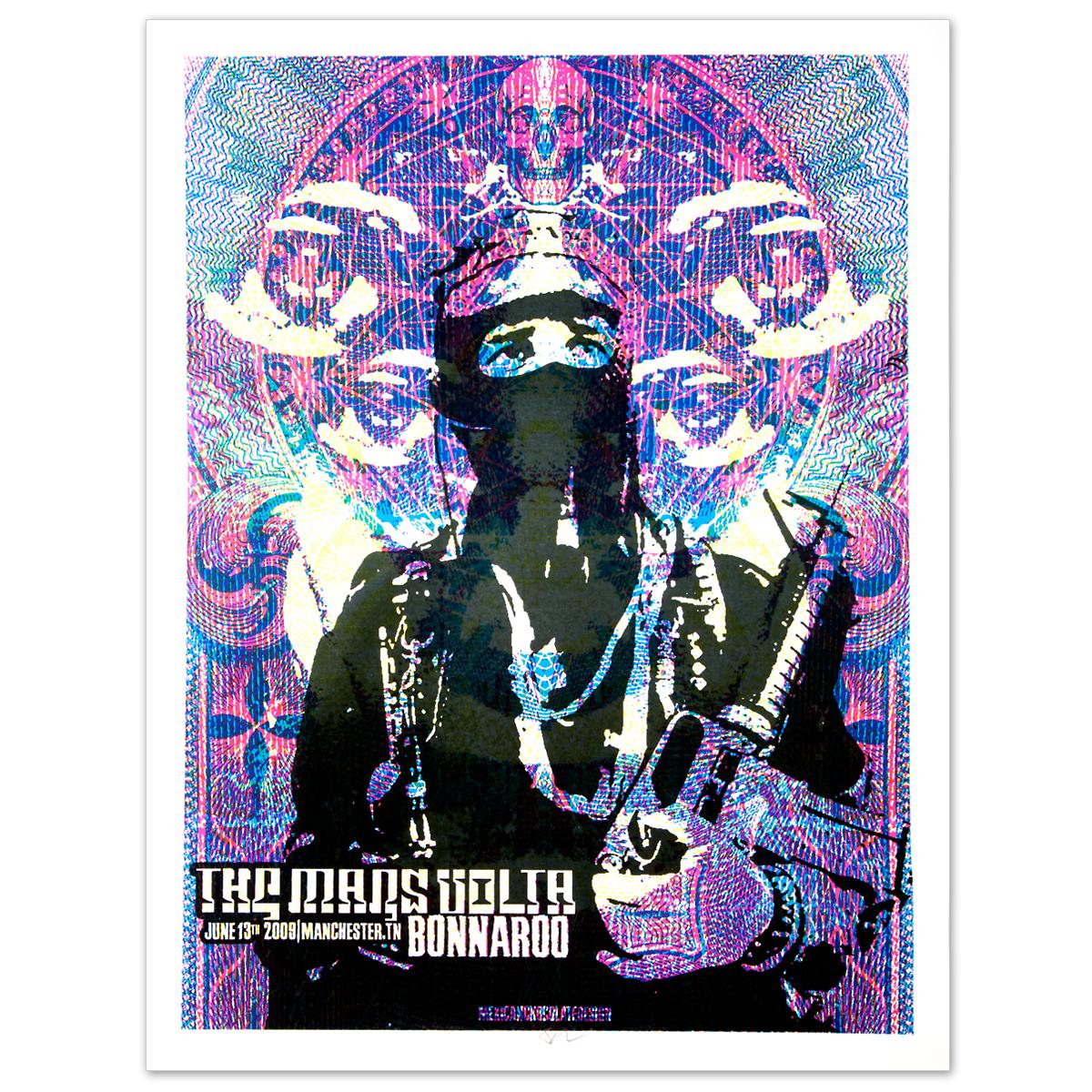 2009 Bonnaroo Mars Volta poster